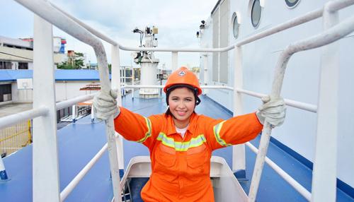 ITF și alte organisme de reglementare susțin mărirea numărului femeilor din sectorul maritim