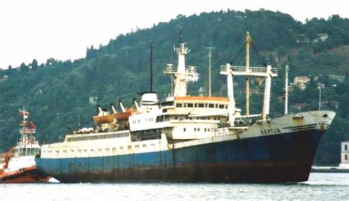 Cum a sfârșit nava-școală Neptun
