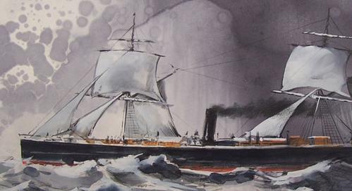 """""""Cimbria"""". Povestea """"Titanicului"""" german"""