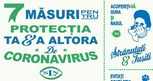 7 măsuri pentru protecția de Coronavirus