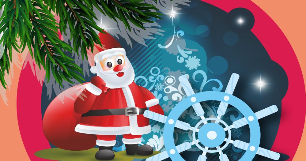 Moș Crăciun a venit la copiii navigatorilor