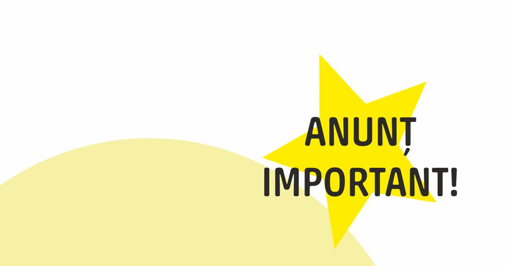 Anunț navigatori - ref.Cod Fiscal 2018/2019