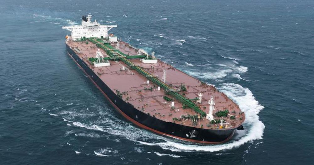 Un moment din viața pe mare, pe un VLCC